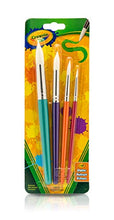 Load image into Gallery viewer, Crayola Big Paint Brushes (4 Count Round), Great for Kids