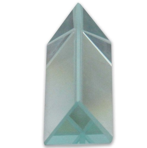"Hawk 1"" X 2"" Optical Glass Triangular Prism for Educational Or Photography Use, to Refract Light"