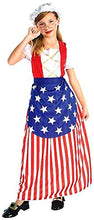 Load image into Gallery viewer, Forum Novelties Patriotic Party Betsy Ross Costume, Child Medium