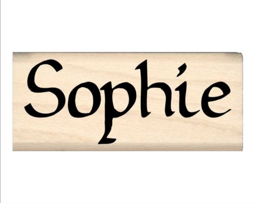 Stamps by Impression Sophie Name Rubber Stamp