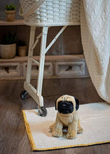 Load image into Gallery viewer, Nat and Jules Sitting Small Pug Dog Children's Plush Stuffed Animal Toy