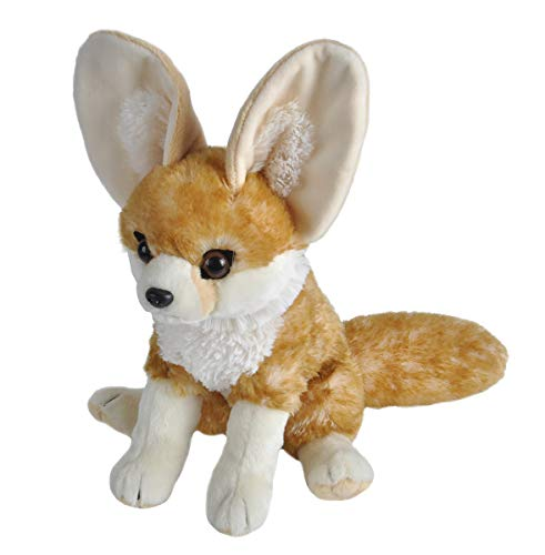 Wild Republic Fennec Fox Plush, Stuffed Animal, Plush Toy, Gifts for Kids, Cuddlekins, 12 Inches