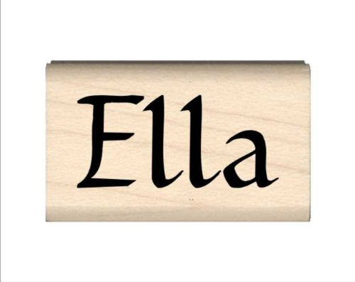 Stamps by Impression Ella Name Rubber Stamp