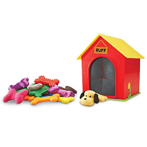 Learning Resources Ruff's House Teaching Tactile Set, Fine Motor Toy, 30 Pieces, Ages 3+