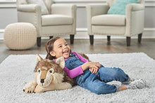 Load image into Gallery viewer, Wild Republic Jumbo Wolf Plush, Giant Stuffed Animal, Plush Toy, Gifts for Kids, 30 Inches