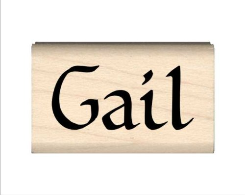 Stamps by Impression Gail Name Rubber Stamp