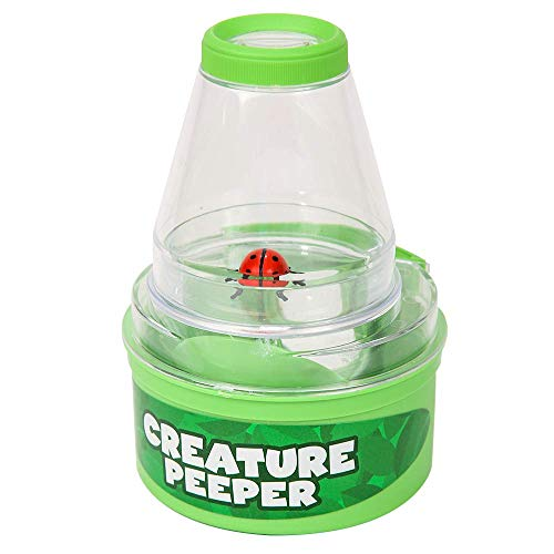 Insect Lore Bug Viewer And Case - Creature Peeper With 3x Magnified Views From Above And Below