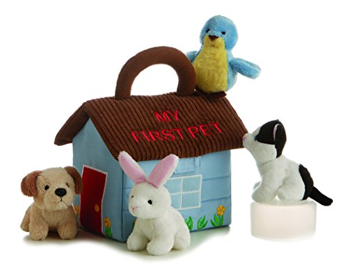 ebba My First Pet Carrier, Plush Animals with Sound