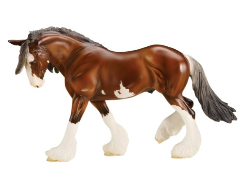 "Breyer Traditional Series SBH Phoenix Clydesdale Horse | Model Horse Toy | 13.75"" x 8.75"" 