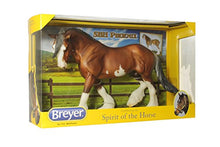 "Load image into Gallery viewer, Breyer Traditional Series SBH Phoenix Clydesdale Horse | Model Horse Toy | 13.75"" x 8.75"" 