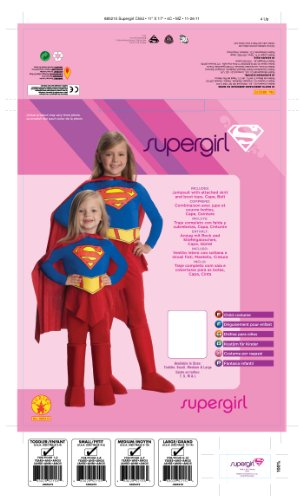 Supergirl Child Costume - Medium