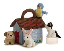 Load image into Gallery viewer, ebba My First Pet Carrier, Plush Animals with Sound