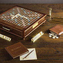 Load image into Gallery viewer, WS Game Company Scrabble Luxury Edition with Rotating Game Board