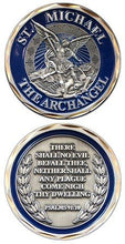 Load image into Gallery viewer, Military Best St. Michael The Archangel Challenge Coin