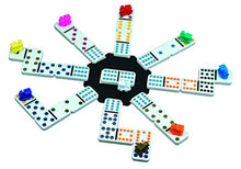 Load image into Gallery viewer, Cardinal Mexican Train Domino Game with Aluminum Case