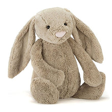 Load image into Gallery viewer, Jellycat Bashful Beige Bunny Stuffed Animal, Huge, 21 inches