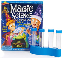 Load image into Gallery viewer, Scientific Explorer Scientific Explorer Magic Science For Wizards Only Kids Science Kit