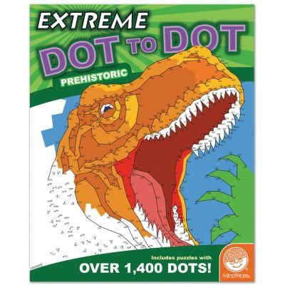Mind Ware Extreme Dot To Dot Coloring: Prehistoric