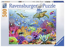 Load image into Gallery viewer, Ravensburger Tropical Waters 500 Piece Jigsaw Puzzle For Adults   Every Piece Is Unique, Softclick T