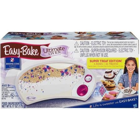 Easy Bake Ultimate Oven, Baking Star Super Treat Edition with 3 Mixes. for Ages 8 and up. (Oven Only, Multicolor)