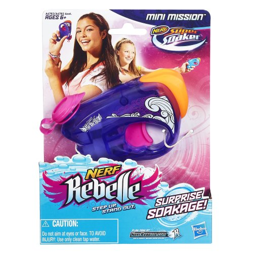 Nerf Rebelle Mini Mission Soaker (Purple)