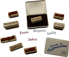 Load image into Gallery viewer, Stamps by Impression Evan Name Rubber Stamp