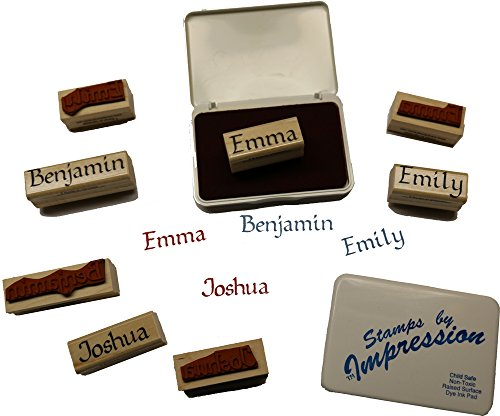 Stamps by Impression Micah Name Rubber Stamp