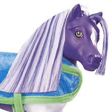 Load image into Gallery viewer, Breyer Horses Color Changing Bath Toy | Ella The Horse | Purple / White With Surprise Pink Color | 7