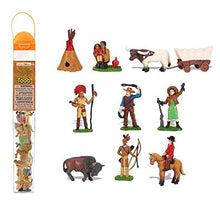 Load image into Gallery viewer, Safari Ltd Wild West TOOB -  11 Hand Painted Toy Figurines