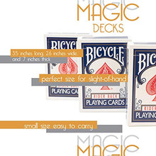 Load image into Gallery viewer, Rock Ridge Magic Magic Masters Combo: Invisible, Svengali And A Standard Deck Deception Trick Kit Bl