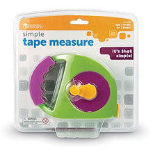 Load image into Gallery viewer, Learning Resources Simple Tape Measure, Measures 4 Feet, Construction Toy, Ages 3+
