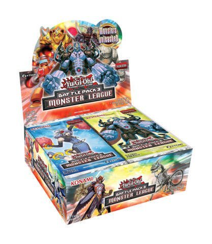 Yu-Gi-Oh! TCG: Battle Pack 3 - Monster League Booster Pack