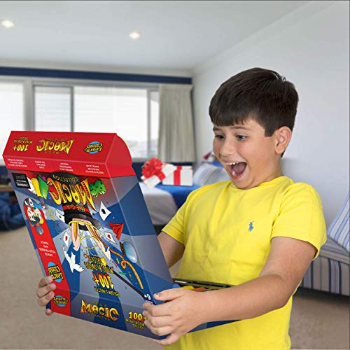 Mega Magic Kit For Kids. Perform Hundreds Today's Most Exciting Tricks. Magic Set With Instructional