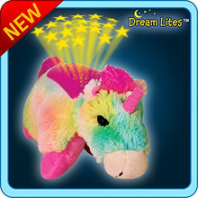 Load image into Gallery viewer, Pillow Pets DreamLites Rainbow Unicorn