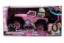 Load image into Gallery viewer, Jada Toys GIRLMAZING Big Foot Jeep R/C Vehicle (1:16 Scale), Pink