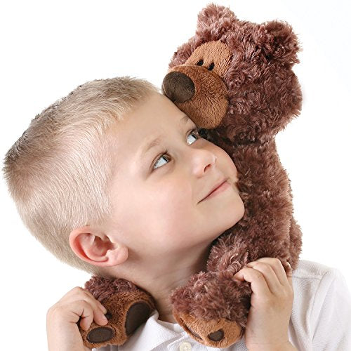 GUND Philbin Teddy Bear Stuffed Animal Plush, Chocolate Brown, 12""