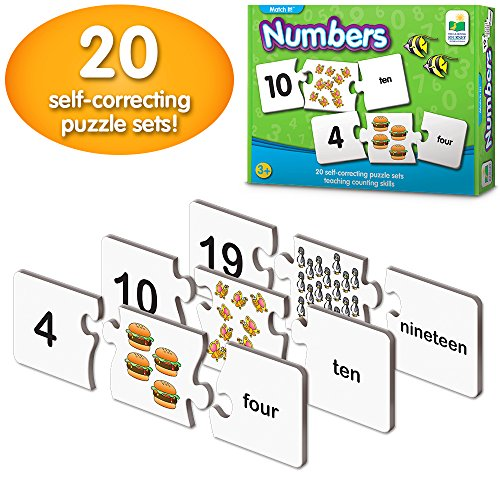 The Learning Journey: Match It! - Numbers - Self-Correcting Number & Counting Puzzles
