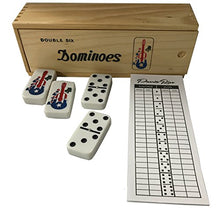 Load image into Gallery viewer, Puerto Rico Domino Set Jumbo Size Cuatro Coqui Includes Score pad