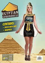 Load image into Gallery viewer, Bristol Novelty AC231 Egyptian Sequin Dress (UK 10 - 14)
