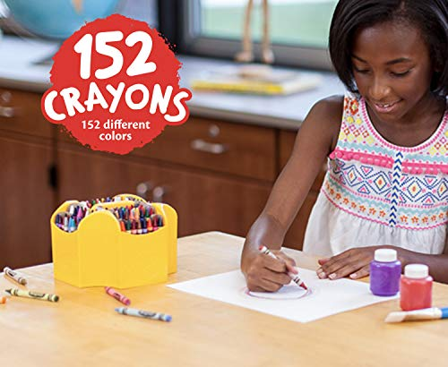 Crayola Ultimate Crayon Collection Coloring Set, Gift Age 3+   152 Count