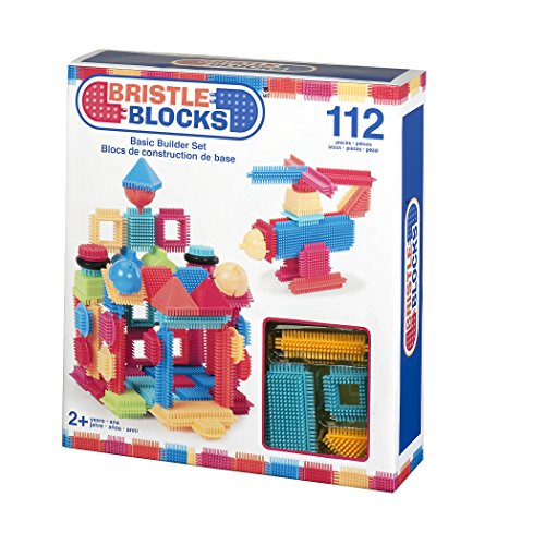 Bristle Blocks By Battat â?? The Official Bristle Blocks â?? 112 Piece â?? Creativity Building Toys D