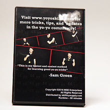 Load image into Gallery viewer, Quick Trick Yo-Yo Tutorial DVD with Instructor Sam Green