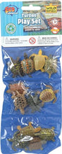 Load image into Gallery viewer, Wild Republic Polybag of Mini Turtle Figurines