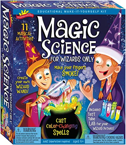 Scientific Explorer Scientific Explorer Magic Science For Wizards Only Kids Science Kit