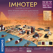 Load image into Gallery viewer, Imhotep Builder of Egypt | Family Board Game by Kosmos | 2-4 Players | Ages 10+ | Toy of The Year Finalist | Parents Choice Gold Award Winner | Toy Insider Top Holiday Toy | Spiel Des Jahres-Nominated