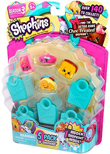 Shopkins Season 3 (5-Pack) -  Characters May Vary (Discontinued by manufacturer)