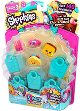 Load image into Gallery viewer, Shopkins Season 3 (5-Pack) -  Characters May Vary (Discontinued by manufacturer)
