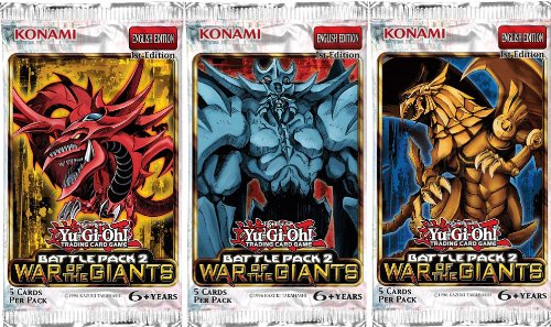 Konami YuGiOh Battle Pack 2: War of the Giants (1st Edition) Booster Pack