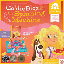 Load image into Gallery viewer, GoldieBlox and The Spinning Machine