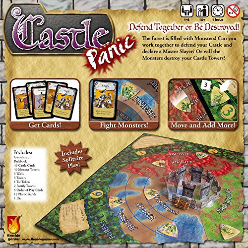 Fireside Games Castle Panic   Board Games For Families   Board Games For Kids 7 & Up Holiday Toy Lis